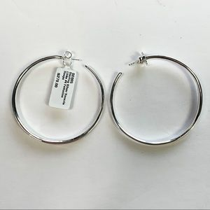NWT Ippolita || Sterling Silver Hoop Earrings